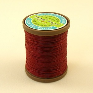 0.45mm Dark Red Polyester Sewing Thread
